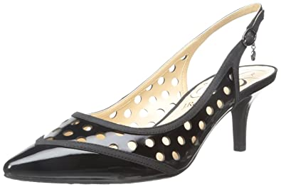 J.Renee Women's Adalyn Dress Pump, Black, ...