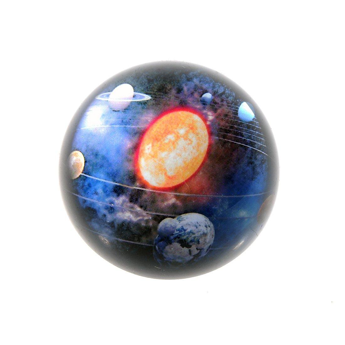beautiful Earth H /& D 80/mm Sfera sfera di cristallo sorprendente cielo stellato design fermacarte figurine decorazione artigianale per bambini o come regalo di Natale