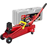 BIG RED T820014S Torin Hydraulic Trolley Service/Floor Jack with Blow Mold Carrying Storage Case, 2 Ton (4,000 lb…