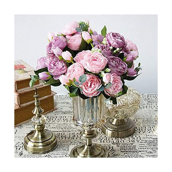 Beautiful-Rose-Peony-Artificial-Silk-Flowers-small-bouquet-flores-home-party-spring-wedding-decoration-mariage-fake-Flower