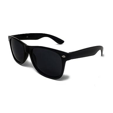 c61f81c8781 KIDS Classic Sunglasses Black Lens Style - Unisex Childrens Shades UV400  Protective  Black Frame   Amazon.co.uk  Clothing