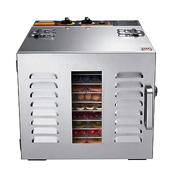 Máquina de conservación de alimentos, Secador de frutas, 10 capas de gran capacidad de