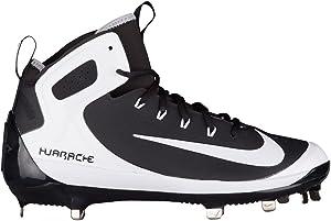 Nike men's Alpha Huarache Elite Mid Baseball Cleats