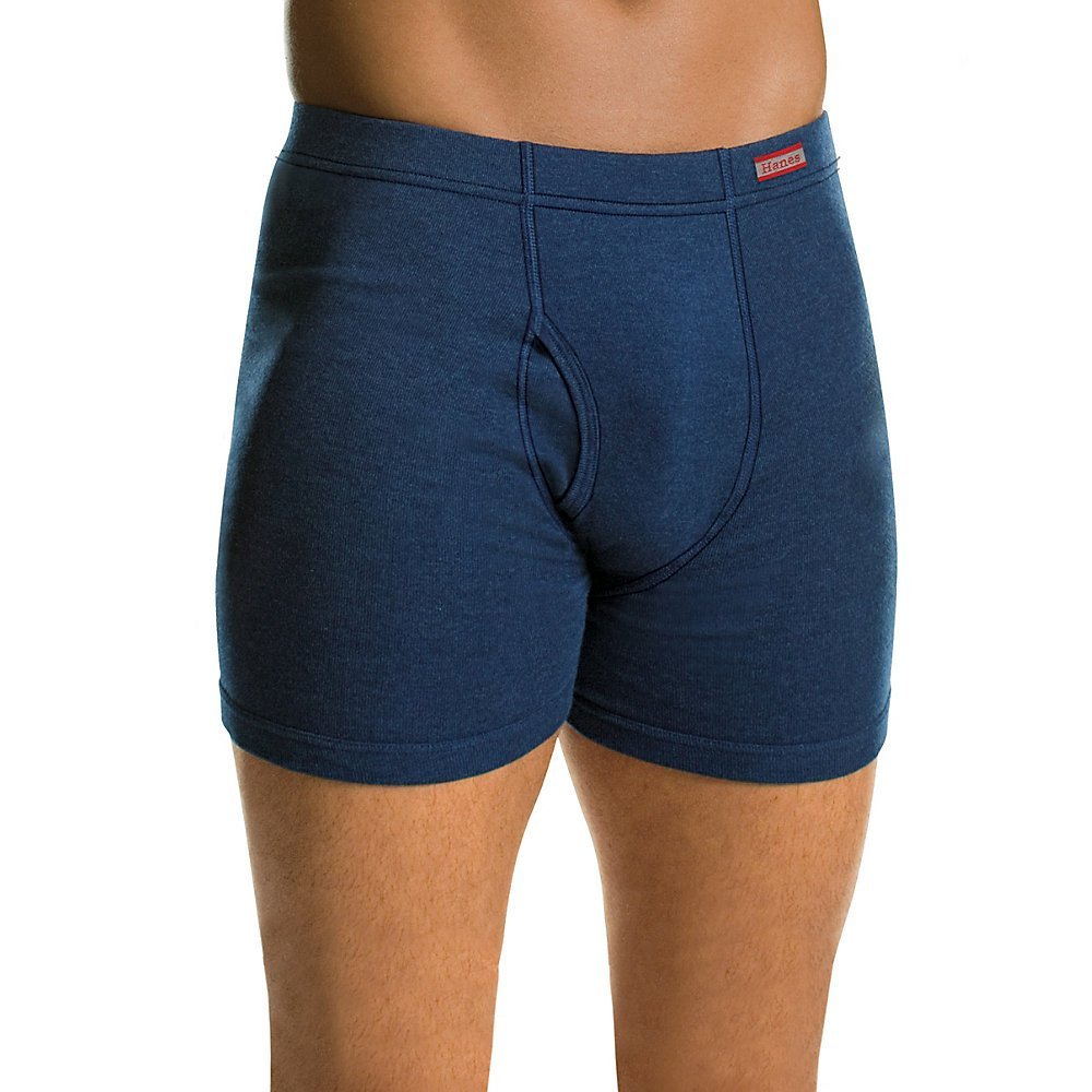 510a0931a4e0 Hanes Men's 4-Pack Comfortsoft Extended Sizes Boxer Briefs at Amazon Men's  Clothing store: