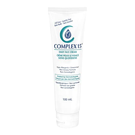 Complex 15 Daily Face Cream, 3.4 Ounce Pack of 10