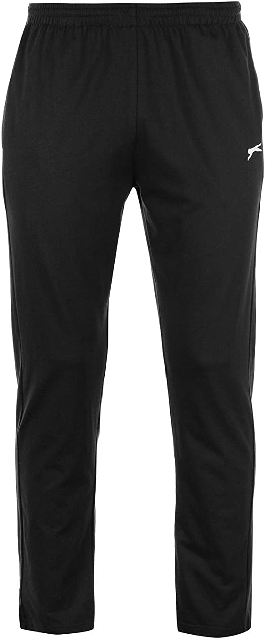 Slazenger Mens Jersey Jogging Bottoms Trousers Pants Drawstring Elasticated