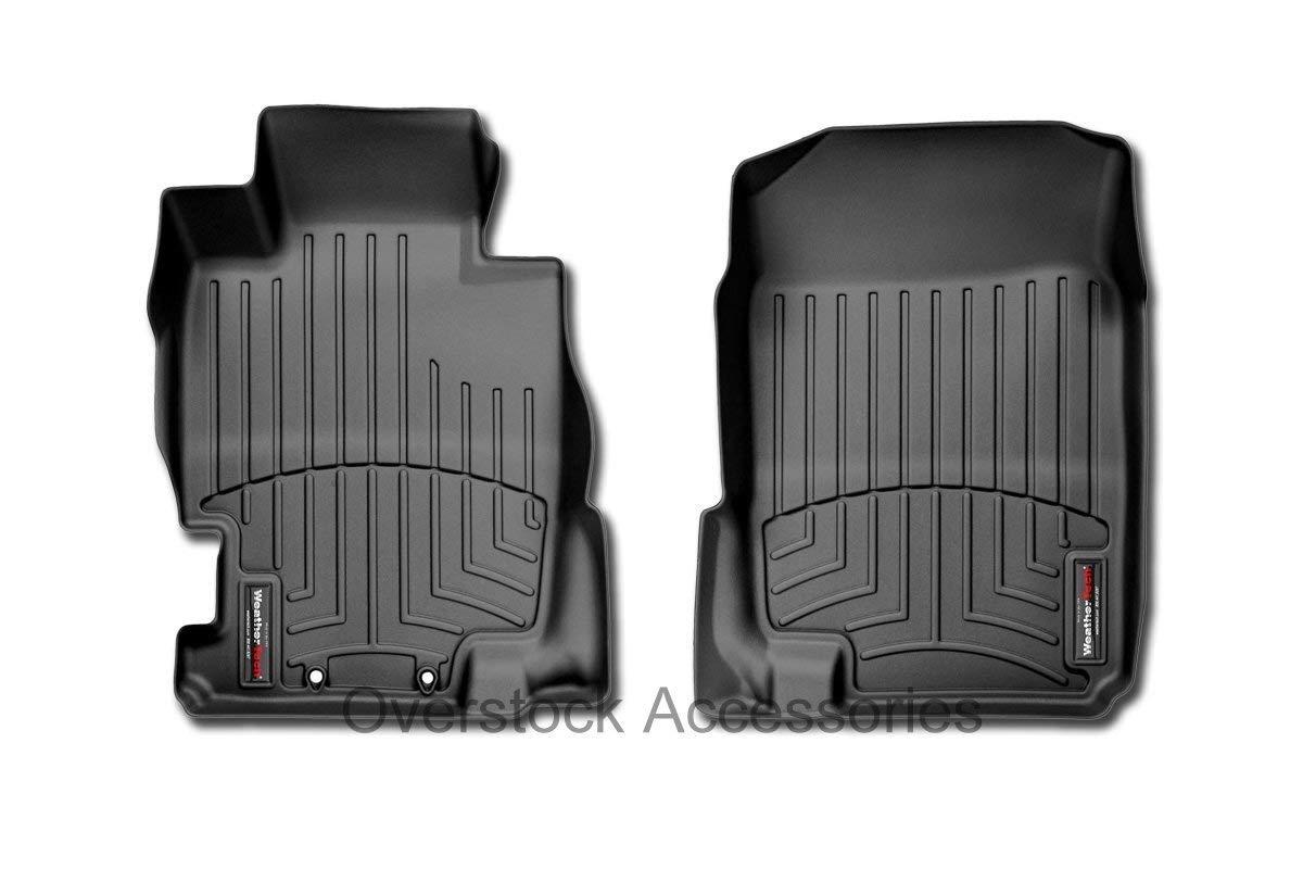 WeatherTech FloorLiner Front Mats Only - 446971 1st Row Driver//Passenger Black