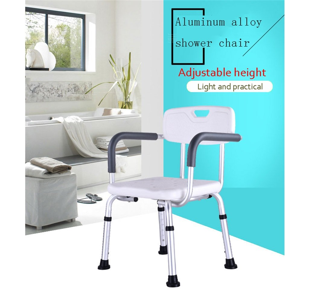 Y&T-Shower Stools Shower Seats Stool for Elderly Anti-slip Safe and ...