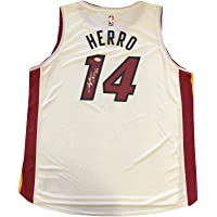 $371 » Tyler Herro Autographed White Licensed Miami Heat Jersey (JSA) - Autographed NBA Jerseys