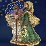 Luke - Nativity Trilogy - Beaded Cross Stitch Kit MH193303