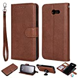IVY 2 in 1 Wallet Case for Galaxy J3 2017,[Detachable][Fit Magnetic Car Moun]