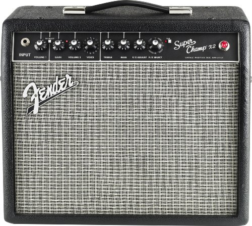 Fender Super Champ X2 15-Watt 1x10-Inch Guitar Combo (Tube Guitar Combo Amplifier)