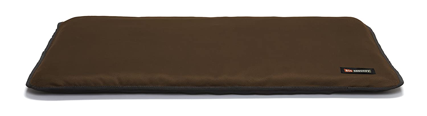 Big Shrimpy 7541 Landing Crate Pad, Small, Truffle Suede