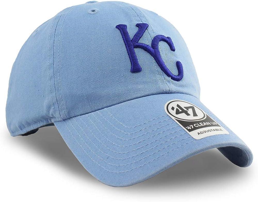 47 Kansas City Royals Clean Up Hat Adjustable Blue
