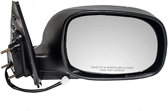 Passengers Power Side View Mirror with Chrome Replacement for Toyota Pickup Truck SUV 87910-0C080 AUTOANDART