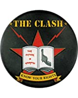 """The Clash """"Know Your Rights"""" Button / Pin"""