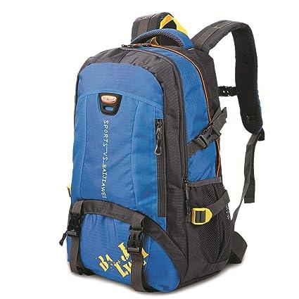 Zehaer Climb Backpack Travel Backpack,Walk Travel The Climb Nylon Backpack,Black