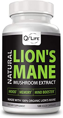 Organic Lion's Mane Mushroom Extract Daily Supplement