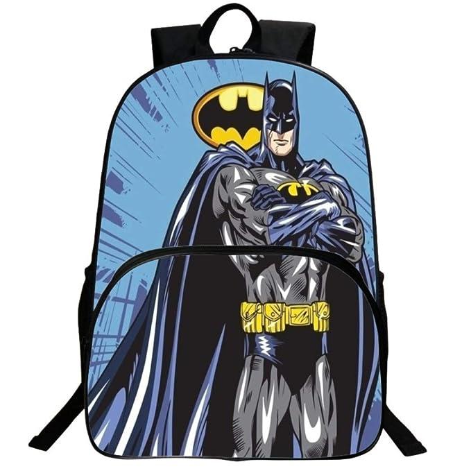 3D Batman Mochila Escolar Para Niños Adolescentes Ligeros Mochilas Para Niños Y Niñas Bolsas Escolares De 8-15 Años,Batman(1)-40 * 30 * 16cm: Amazon.es: ...