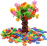 Toys : VIAHART Brain Flakes 500 Piece Interlocking Plastic Disc Set | A Creative and Educational Alternative to Building Blocks | Tested for Children's Safety | A Great STEM Toy for Both Boys and Girls!