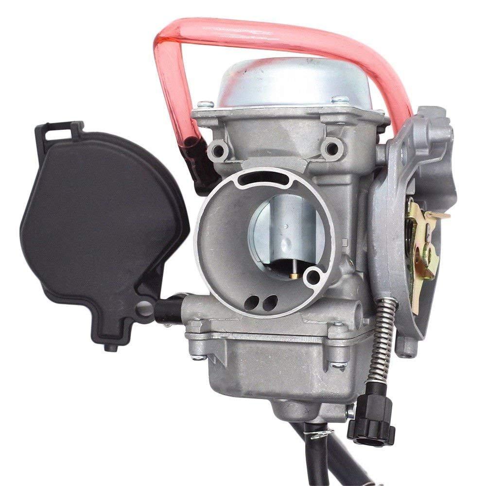 Radracing ATV Carburetor Replacement Kit for Arctic Cat 250 300 2x4 4x4 2001 2002 2003 2004 2005 Red Green