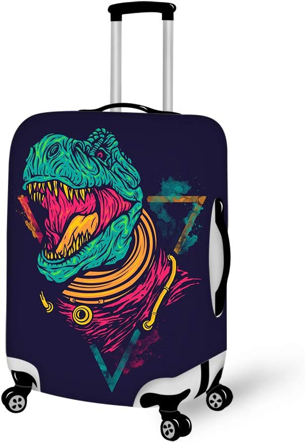 Luggage Cover Sharks In The Light Blue Protective Travel Trunk Case Elastic Luggage Suitcase Protector Cover