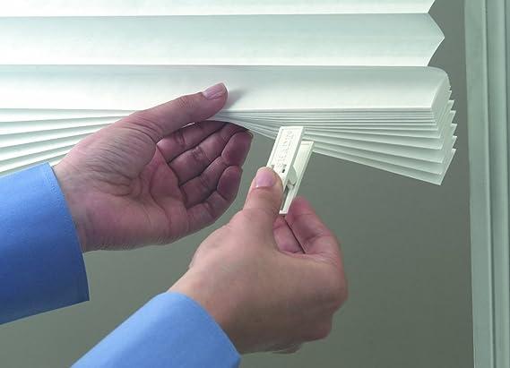 Persiana semipermanente de papel, 121 x 182 cm, fijación adhesiva sin herramientas. Proporciona seguridad, privacidad y estilo de manera instantánea: ...