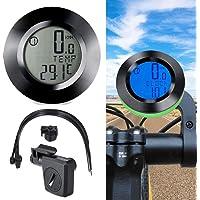 osierr6 Velocímetro inalámbrico para Bicicleta, Impermeable, visualización LCD automática, multifunción, velocímetro, odómetro, Sistema de Sensor superpreciso