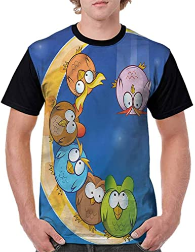 BlountDecor Teen t-Shirt,Cute Beasts Children Fashion Personality Customization