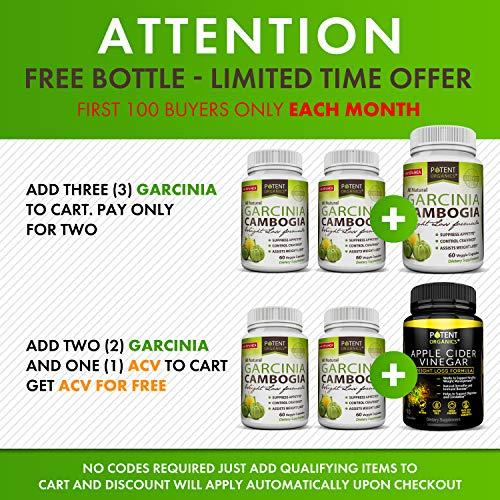 Pure Garcinia Cambogia Extract - 95% HCA Capsules - Best ...