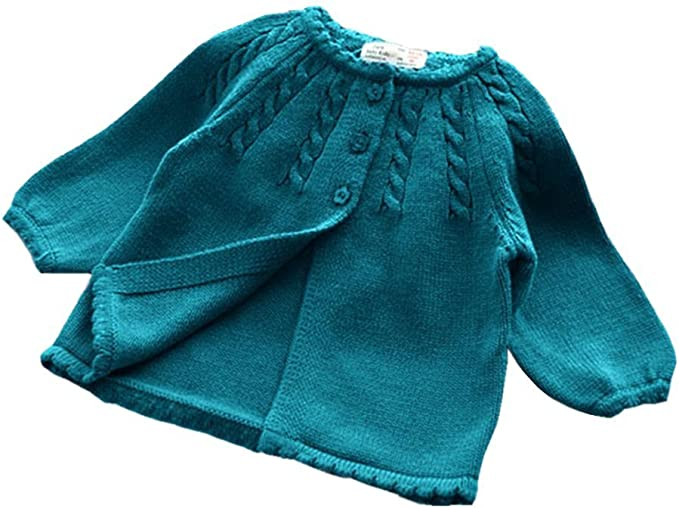 Amazon.com: Kimjun - Chaqueta de punto para bebé y niña, de ...
