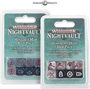 Warhammer Underworlds Godsworn Hunt Dice Pack: Amazon.es: Juguetes y juegos
