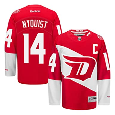online retailer 0aa03 89d6d Amazon.com: Gustav Nyquist Detroit Red Wings #14 Youth ...