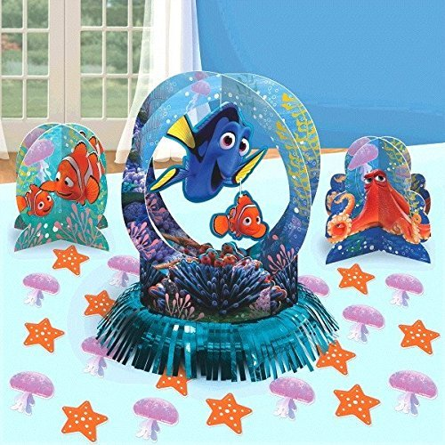 Disney Finding Dory Party Table Decorations Kit ( Centerpiece Kit ) 23 PCS - Kids Birthday and Party Supplies Decoration -