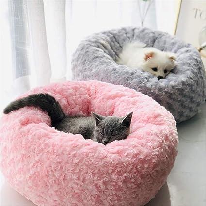 Steaean Cama para Dormir Dormir Perro Nido Nido Gato Rojo Nido otoño e Invierno cálido Gato