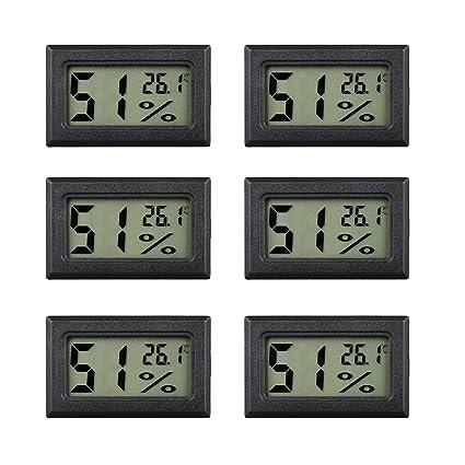 1 Stück Mini Digital LCD Thermometer und Hygrometer Thermometer Hygrometer Ind