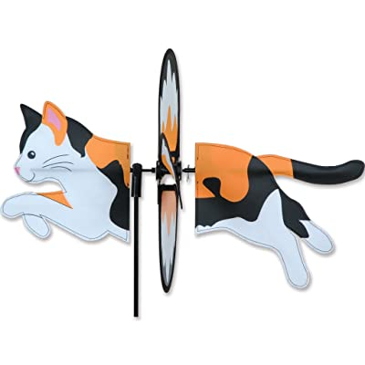 Petite Spinner - Calico Cat : Garden & Outdoor