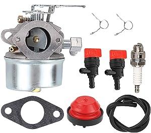 ATVATP 640084B Carburetor for Tecumseh 640084 Carburetor HSSK40 HSSK50 HSSK55 LH195SA LH195SP Toro 38035 38052 38054 38052C 38035C 38056 Snowblower 632107 632107A