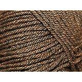 Sirdar 872 - Ovillo de lana para tejer (400 g), color marrón