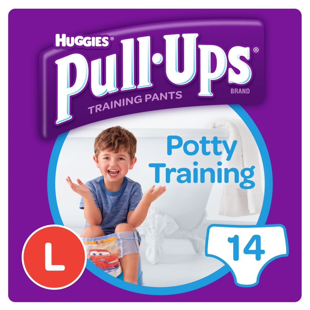 Huggies Pull Ups Day Time Potty Size Training Pants for Boys, 16/23 kg, Large Kimberly-Clark Ltd 109160930