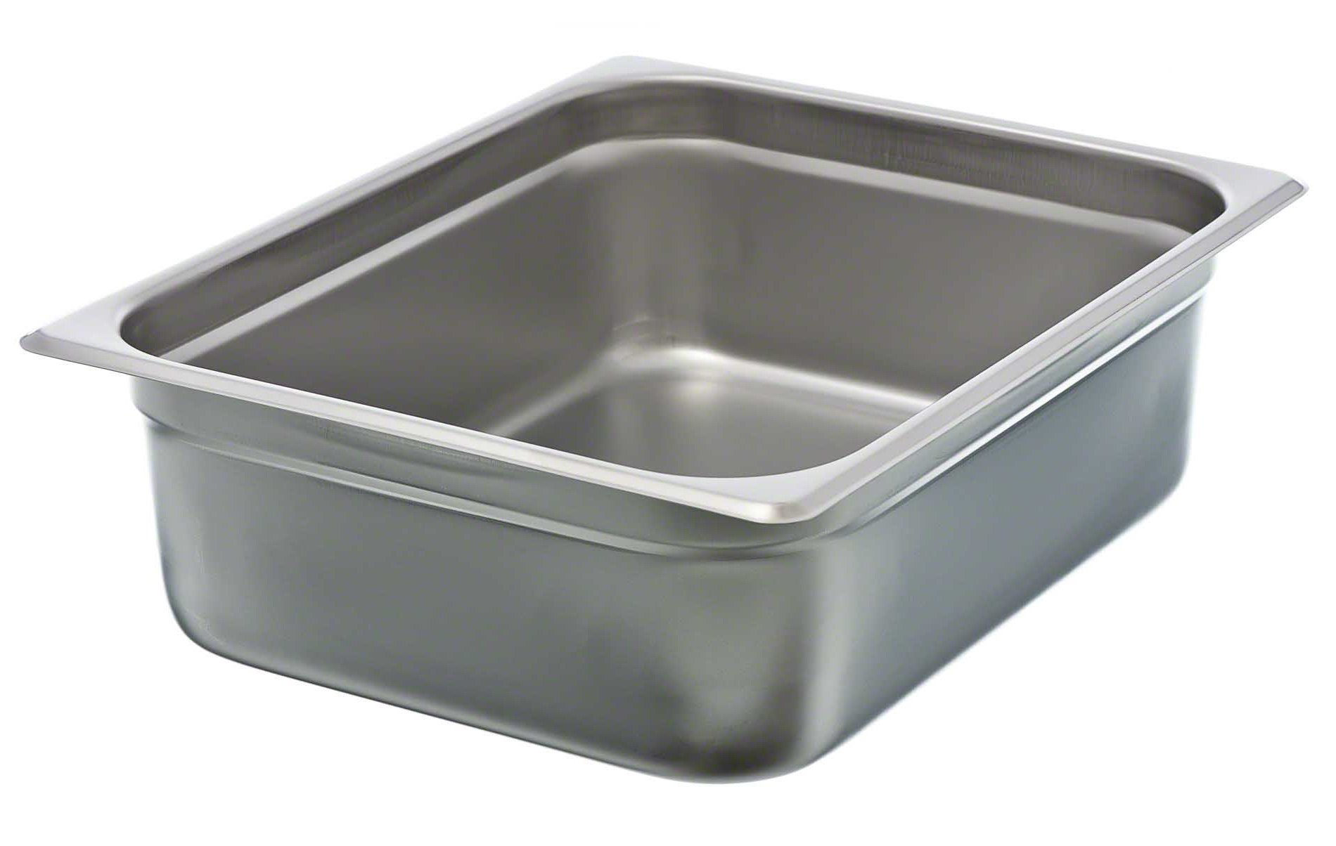 Update International (NJP-504) 4'' Half-Size Anti-Jam Steam Table Pan by Update International