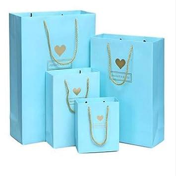 Amazon Com Jewh Small White Gift Bag With Handles Wedding