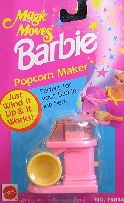 Amazon.com: Barbie Magic se mueve palomitero viento It ...