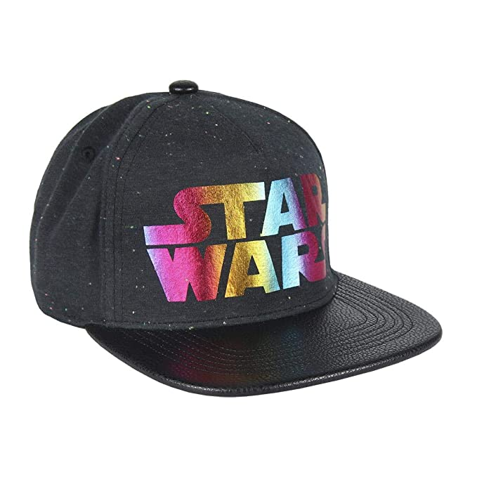 Artesania Cerda Gorra Visera Plana Star Wars Colors, Negro (Negro ...