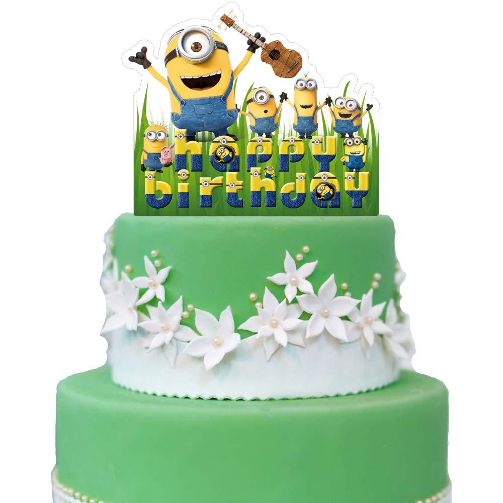 Amazon.com: Decoración para tarta de Minions, colección de ...