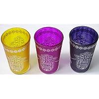 Set kenta 3 Vasos marroquies para el té
