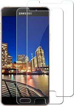 2 Piezas] Cristal Templado Para Samsung Galaxy A5 2016, Protector ...