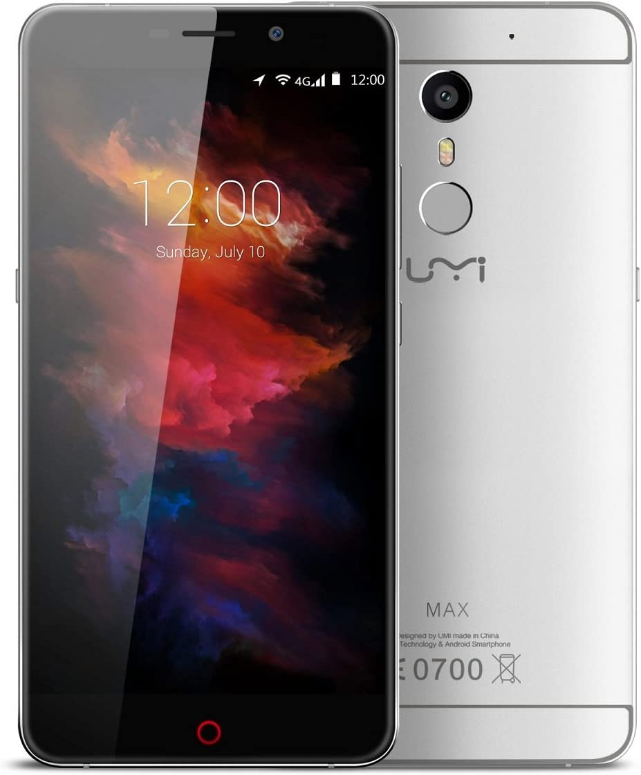 UMIDIGI Max - Smartphone libre 4G LTE Android 6 (Pantalla 5.5