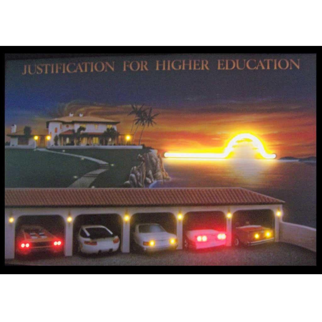 Amazon.com: Neonetics Justification for Higher Education Neon/LED ...