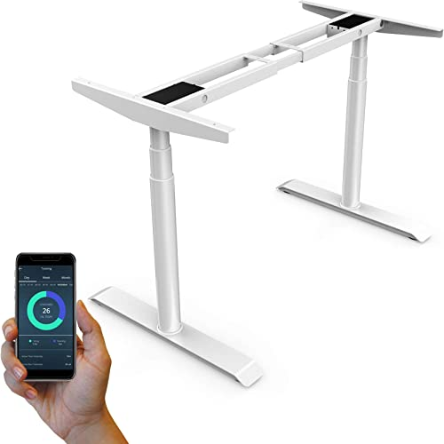 StudiONE Dual Motor Electric Height Adjustable Standing Desk Frame